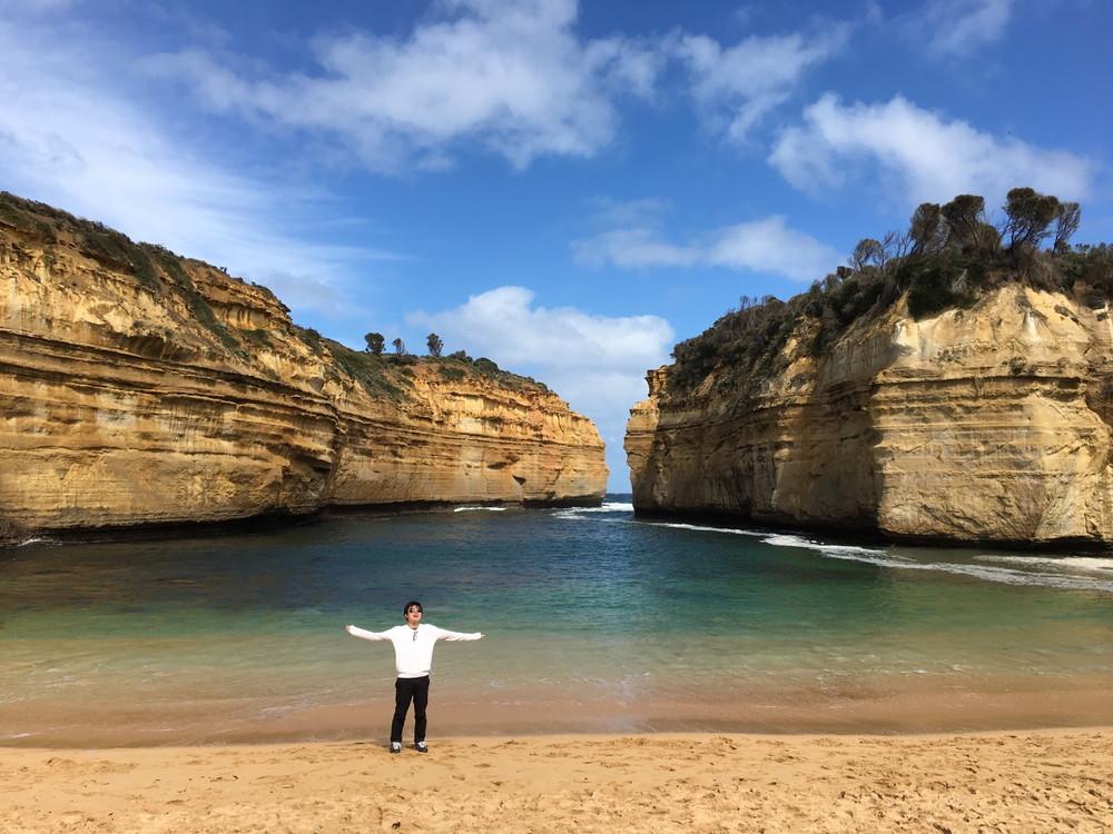オーストラリアの海♪ちなみに8月です♪